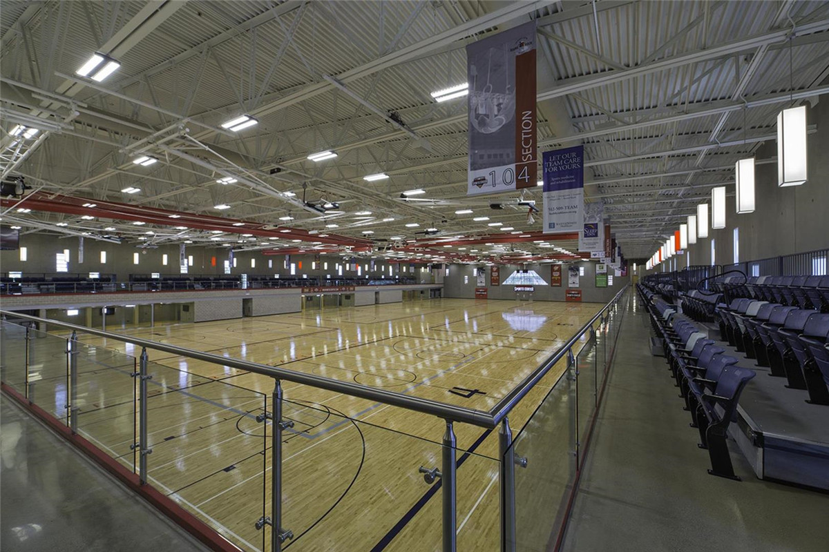 Indoor Sports Arena (Maple Sports Floor) Construction Plan