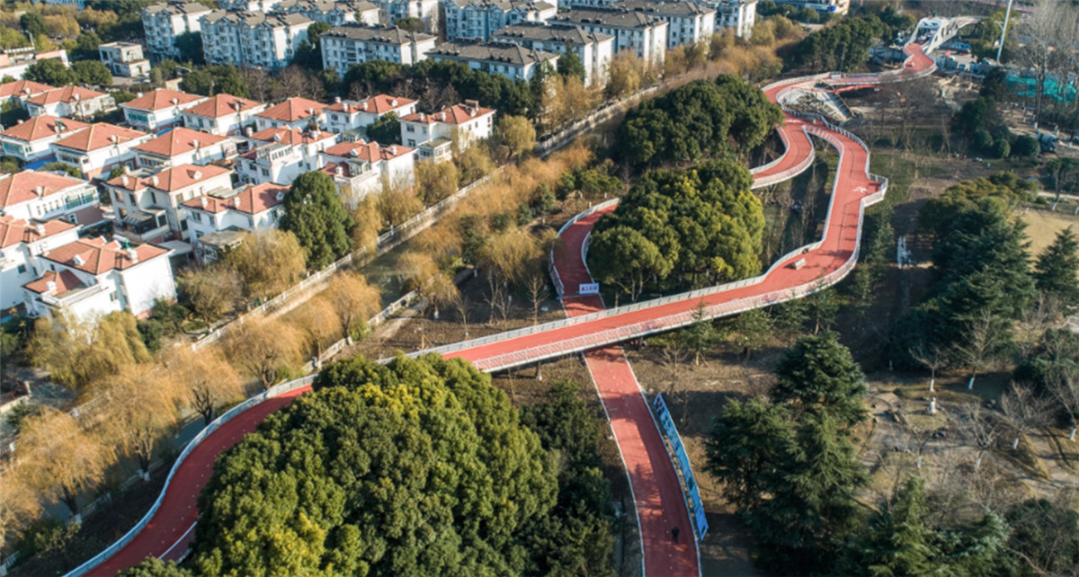 The Longest Urban Sports Greenway In The World - Jiangyin Greenway