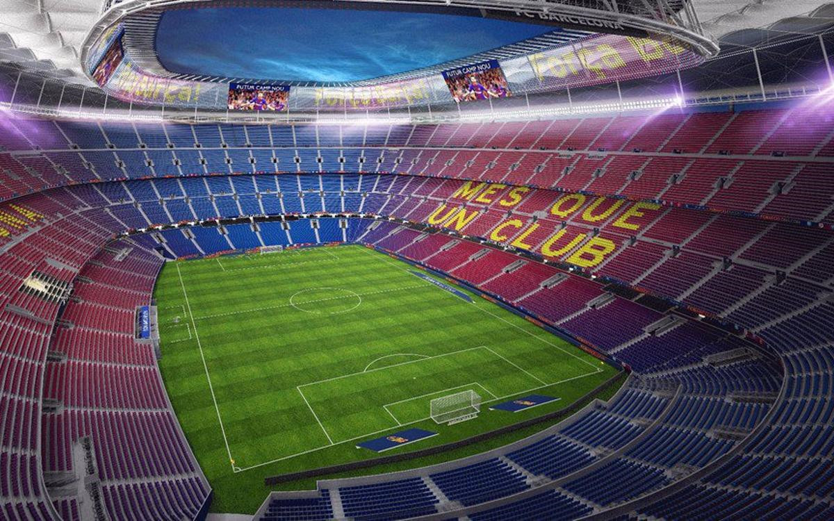 Camp Nou Stadium Upgraded To 5G Stadium