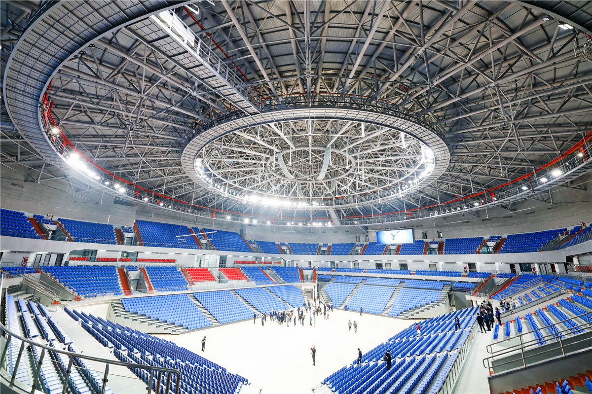 Construction Technology For Tensioned Trusses In Sports Stadium Projects