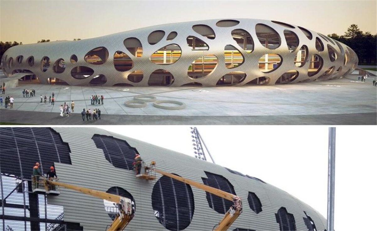The Unique Design Of Nine Of The World's Most Famous Major Sports Stadiums