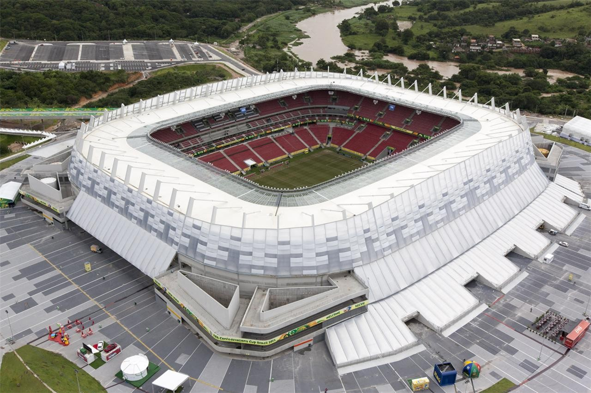 The Largest Roofing Cable Network Structure In The World's Stadiums