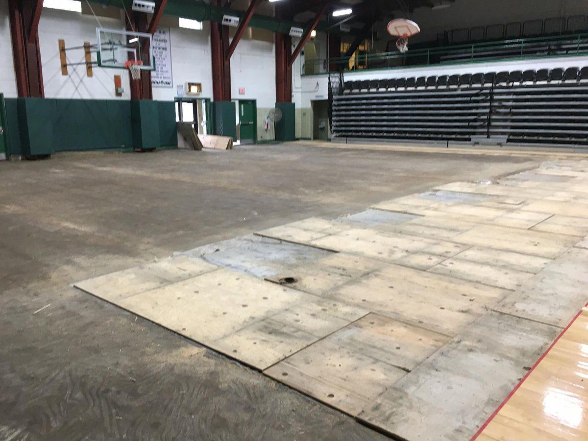 How To Make Polished Concrete Flooring For Gymnasium