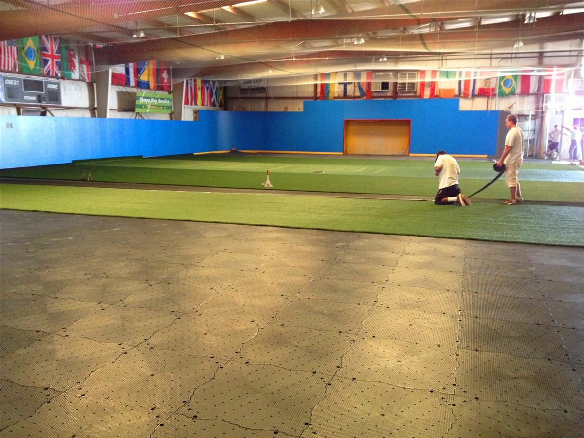 Various Sports Field Flooring Materials